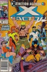X-Factor (1986-1998) #62 Variant A: Newsstand Edition