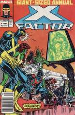 X-Factor (1986-1998) #Annual 2 Variant A: Newsstand Edition