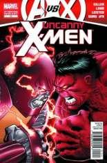 Uncanny X-Men (2011-2012) #11 Variant C: 2nd Printing