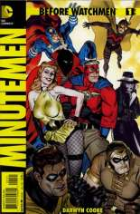 Before Watchmen: Minutemen #1 Variant B: Incentive Cover