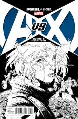 Avengers vs. X-Men (2012) #5 Variant F: 1:200 Sketch Variant