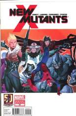 New Mutants (2009-2012) #44 Variant B: 1:25 Spider-Man in Motion Cover