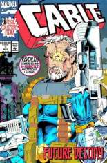 Cable (1993-2002) #1 Variant C: Error Cover; Majority of Gold Foil Missing From Title Logo