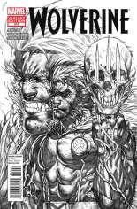 Wolverine (2010-2012) #310 Variant E: Sketch Cover
