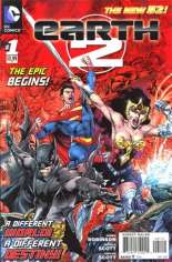 Earth 2 (2012-Present) #1 Variant C: 2nd Printing