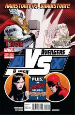 AvX: VS (2012) #4 Variant B: 1:20 Fight Poster Cover