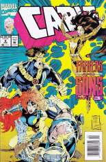 Cable (1993-2002) #8 Variant A: Newsstand Edition