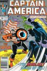 Captain America (1968-1996) #344 Variant A: Newsstand Edition