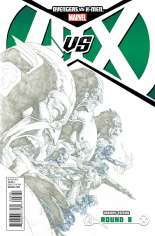 Avengers vs. X-Men (2012) #8 Variant C: Sketch Variant