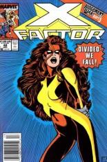X-Factor (1986-1998) #48 Variant A: Newsstand Edition
