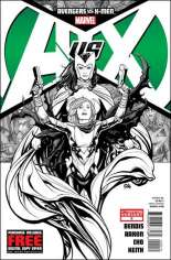 Avengers vs. X-Men (2012) #0 Variant H: 6th Printing