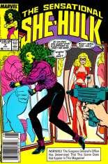 Sensational She-Hulk (1989-1994) #4 Variant A: Newsstand Edition