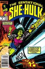 Sensational She-Hulk (1989-1994) #6 Variant A: Newsstand Edition