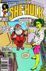 Sensational She-Hulk (1989-1994) #8 Variant A: Newsstand Edition
