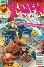 X-Men (1991-2001, 2004-2008) #1 Variant B: Newsstand Edition; Wolverine/Cyclops/Iceman Cover