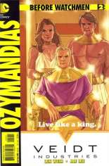 Before Watchmen: Ozymandias #2 Variant B: Incentive Cover