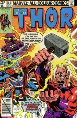 Thor (1966-1996) #286 Variant C: UK Edition
