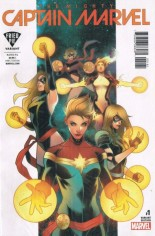 Mighty Captain Marvel #1 Variant F: Fried Pie Variant