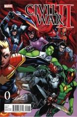 Civil War II (2016) #0 Variant M: Stan Lee Collectibles Exclusive Variant