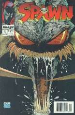 Spawn (1992-Present) #4 Variant B: Newsstand Edition; Includes Image #0 Coupon