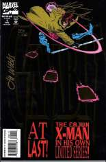 Gambit (1993-1994) #1 Variant D: DF Signed Edition; Signed by Howard Mackie and Lee Weeks; Limited to 10,000 Copies