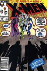 Uncanny X-Men (1963-2011) #244 Variant A: Newsstand Edition