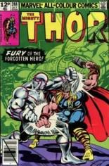 Thor (1966-1996) #288 Variant C: UK Edition