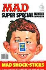 Mad Special (1970-1999) #27: Bonus: Mad Shock-Sticks