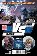 AvX: VS (2012) #5 Variant B: 1:20 Fight Poster Cover