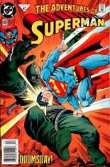 Adventures of Superman (1987-2006) #497 Variant A: Newsstand Edition