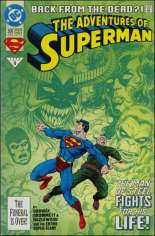 Adventures of Superman (1987-2006) #500 Variant B: Direct Edition; Standard Cover