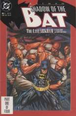Batman: Shadow of the Bat (1992-2000) #1 Variant B: Direct Edition