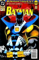 Detective Comics (1937-2011, 2016-Present) #667 Variant A: Newsstand Edition
