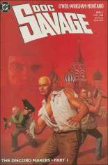 Doc Savage (1988-1990) #1: Painted Cover