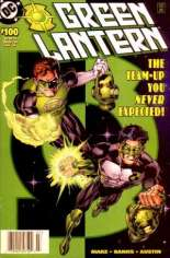 Green Lantern (1990-2004) #100 Variant A: Double Cover; Newsstand Edition