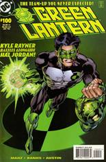Green Lantern (1990-2004) #100 Variant C: Kyle Rayner Cover