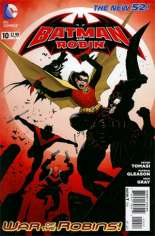 Batman and Robin (2011-2015) #10 Variant C: 2nd Printing