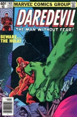 Daredevil (1964-1998) #163 Variant A: Newsstand Edition