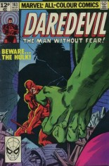 Daredevil (1964-1998) #163 Variant C: UK Edition