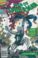 Web of Spider-Man (1985-1995) #79 Variant A: Newsstand Edition