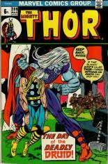 Thor (1966-1996) #209 Variant B: UK Edition