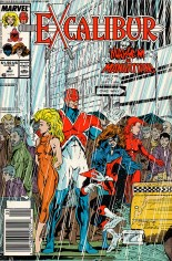 Excalibur (1988-1998) #8 Variant A: Newsstand Edition