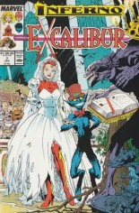Excalibur (1988-1998) #7 Variant A: Newsstand Edition; Wraparound Cover