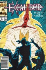 Excalibur (1988-1998) #11 Variant A: Newsstand Edition