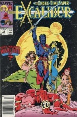 Excalibur (1988-1998) #16 Variant A: Newsstand Edition
