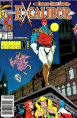 Excalibur (1988-1998) #21 Variant A: Newsstand Edition