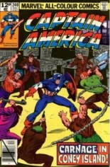 Captain America (1968-1996) #240 Variant C: UK Edition