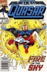 Quasar Special (1992) #3 Variant A: Newsstand Edition; This is a ''temporary'' Mass Market supplement series for the then Direct Market exclusive ''Quasar (1989-1994)'' #34
