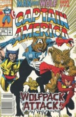 Captain America (1968-1996) #406 Variant A: Newsstand Edition