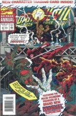 Daredevil (1964-1998) #Annual 9 Variant B: Newsstand Edition; Polybagged w/ Card